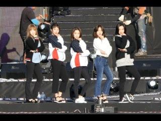 171014 레드벨벳 (Red Velvet) 루키 (Rookie) 사복 리허설[전체] 직캠 Fancam (우정슈퍼쇼) by Mera