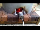 Raku kiln firing copper penny lustre copper glaze