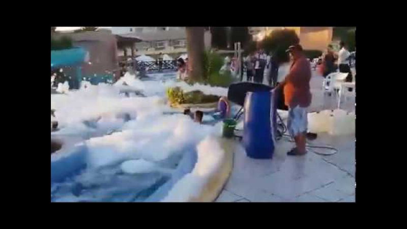 Hotel royal lido resort nabeul MOUSSE PARTY