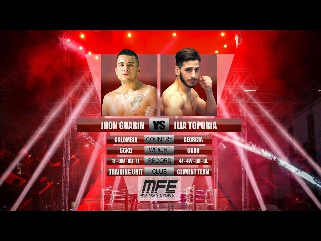 MIX FIGHT ILIA TOPURIA vs JHON GUARIN