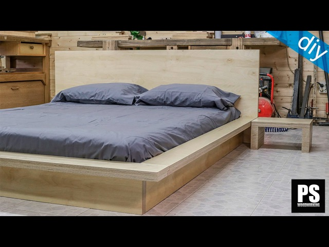 How to make a plywood Tatami Bed