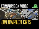 (Comparison) Overwatch but with Cats - Defense Heroes - Katsuwatch