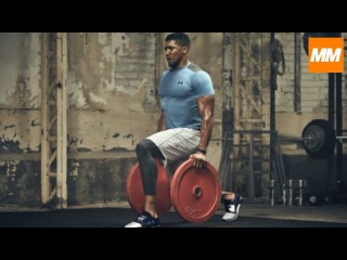 FIGHTING FIT - Anthony Joshua Intensive Boxing Strength & Conditioning Training   Muscle Maximum