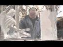 Изготовление мраморной скульптуры ангелов