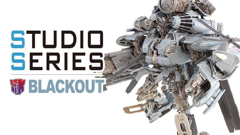 KL變形金剛玩具分享282 電影工作室系列 黑魔/暈眩 Movie Studio Series Leader class BLACKOUT