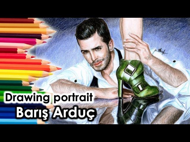 Drawing portrait of Barış Arduç - Barış Arduç portre Ömer*Kıralık Aşk