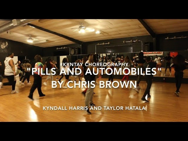 Kyntay choreography Pills and Automobile by Chris Brown Kyndall Harris and Taylor Hatala