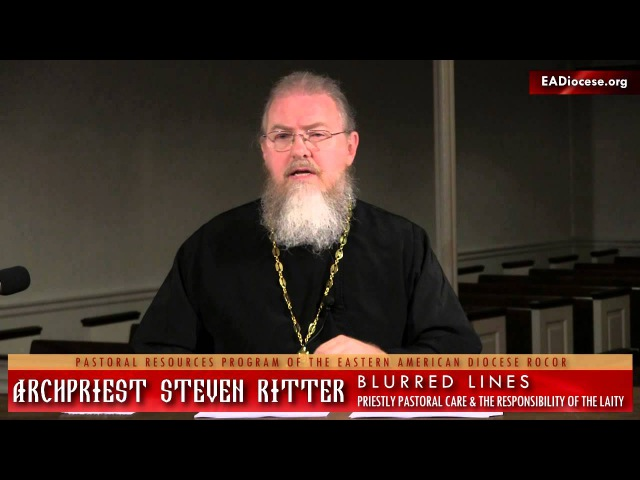 Blurred Lines Priestly Pastoral Care the Responsibility of the Laity