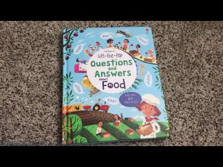 Questions and Answers About Food 🍍 Usborne Books & More