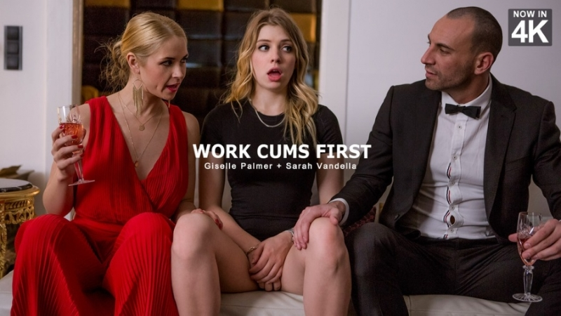Giselle Palmer, Sarah Vandella / Work Cums First / StepMom Lessons