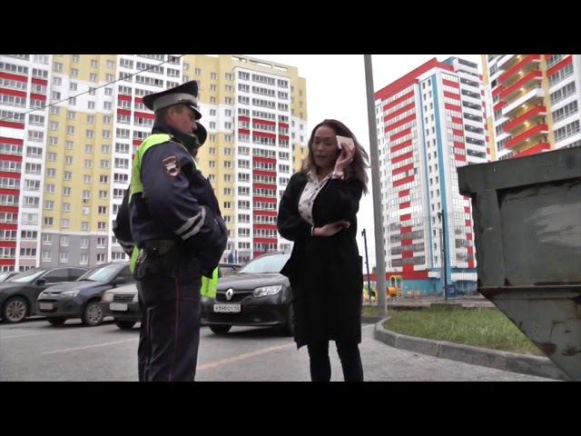 Банкирша матершинница на Фокусе устроила ДТП ул Мостовицкая Место происшеств