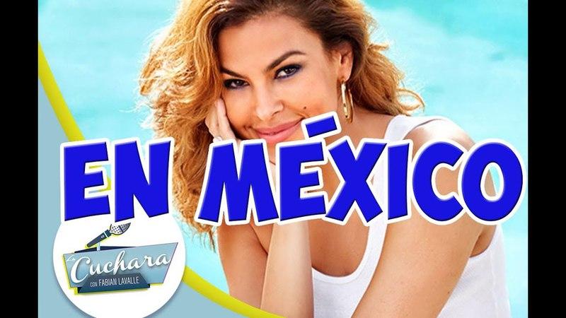 Eva Mendes vino a México a presentar su fragancia EVE DUET I LA CUCHARA