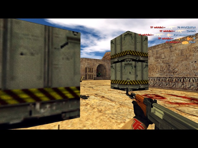 TF wAAde1~ vs FastCup.net | ACE with AK-47 HE