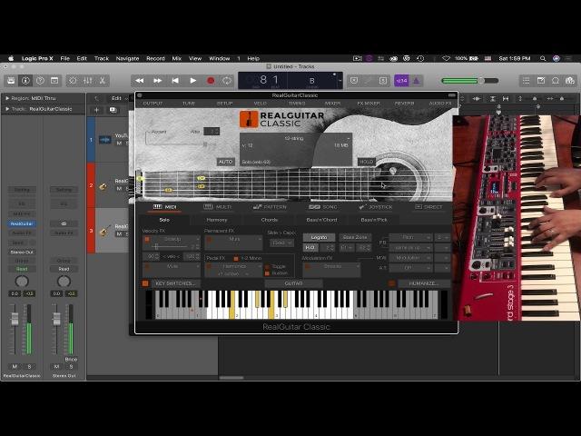 MusicLab RealGuitar Steel StringClassic Demo Review