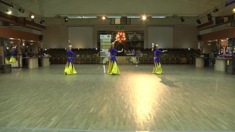 ШВТ Зейнаб Dance Fest 17.03.18.Синьоры.Малая группа.Фолк(шааби) 2 место