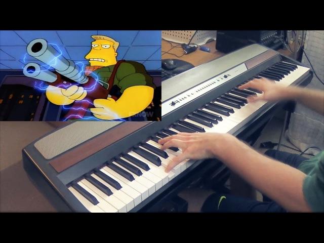 The Full McBain Movie But It's A Piano Dub