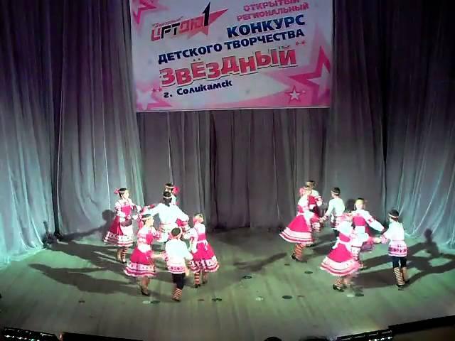 Народный танец г Кудымкар Коми пермяцкие постукалочки