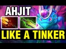 LIKE A TINKER - AhJit Plays Puck - Dota 2