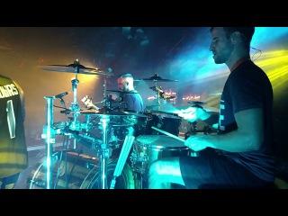 Matt Greiner FULL SET Drum Cam - August Burns Red - Phantom Anthem Tour 1-23-18 2/4