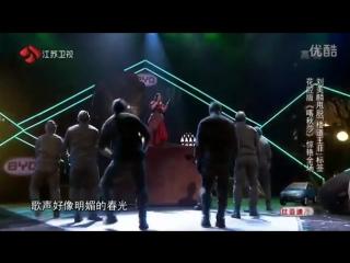 """Песню """"Катюша"""" исполнили на китайском шоу талантов"""