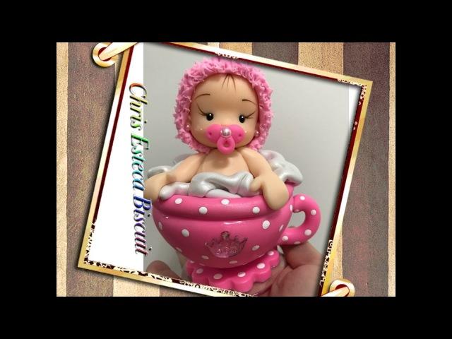 Chá de Bebê Bebê na Xícara