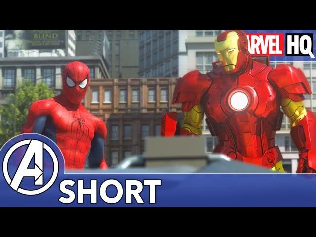 Spidey Meets Iron Man!   The Avengers vs. AIM - Part One   SHORT