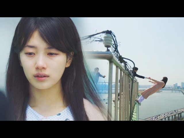 While You Were Sleeping 당신이 잠든 사이에 EP 1 2 Nam Hong Joo Suzy Death Scene Roof Top