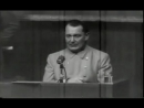 Допрос подсудимого Геринга. Нюрнберг 1945 год.