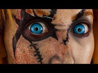 Chucky Makeup/Body Paint Tutorial