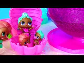 LOL PEARL PURPLE SURPRISE ЖЕМЧУЖНЫЙ СЮРПРИЗ ЛОЛ 2 ВОЛНА. Видео для Детей. Игрушки с Май Той Пинк