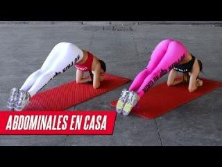 ABDOMINALES EN CASA 5min  | Six Pack Workout at home