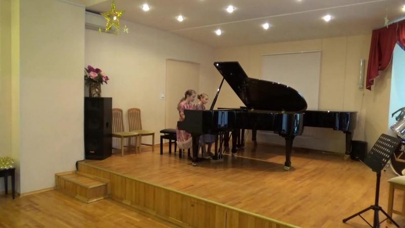 18 Калинина Стриганова фортепианный дуэт ДМШ 45
