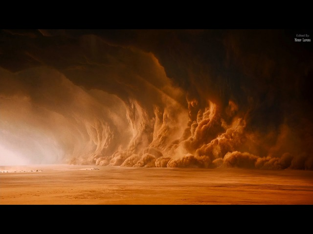 Mad Max Fury Road 2015 Moving into the sand storm 3 10 4K