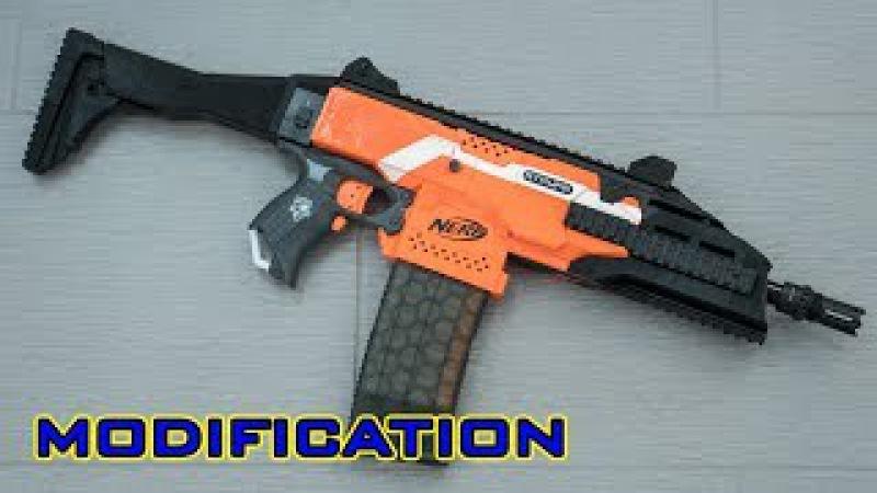 MOD Nerf Stryfe CZ Scorpion EVO 3D Printed Kit