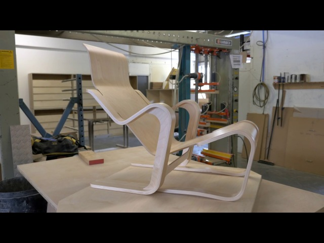 How was it made Moulding a seat for Marcel Breuer's Short Chair