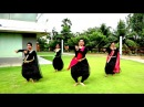 Shape of You-Carnatic Mix by Indian Raga-A Bharatha Natyam Rendition by kreative krackz