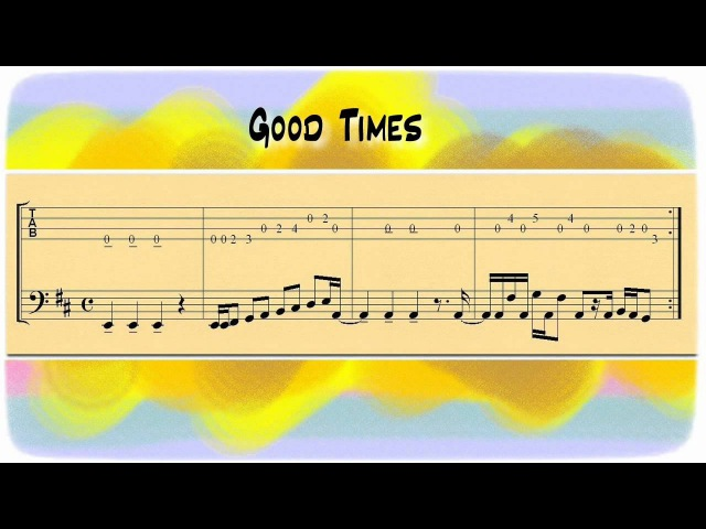 Good Times Bass Jamtrack Backing Track