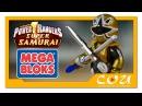 Видео обзор Power Rangers Super Samurai Могучие Рейнджеры Супер Самураи MEGA BLOKS 5742