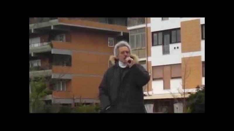 COMIZIO A ROMA ALL'INCONTRO CON I FORCONI E IL PAS DEL 10 DICEMBRE 2017