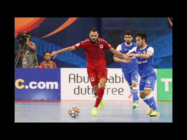 Disi Invest vs Al Rayyan (AFC Futsal Club Championship 2017 – Group Stage)