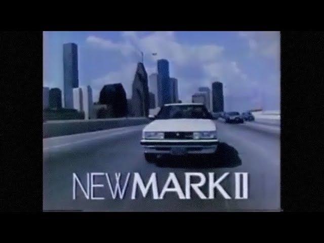 懐かCM 1984年 TOYOTA トヨタ NEW MARKⅡ マークⅡ ~Nostalgic CM of Japan~
