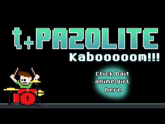 T pazolite KABOOOOOM Blind Drum Cover The8BitDrummer