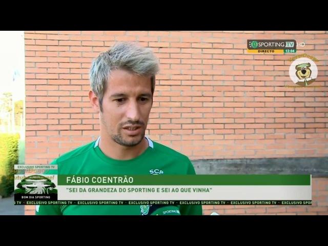 Fábio Coentrão Concretizei o Meu Sonho de Representar o Sporting HD