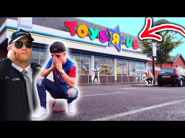 HIDE AND SEEK IN TOYS R US!! ( KICKED OUT )