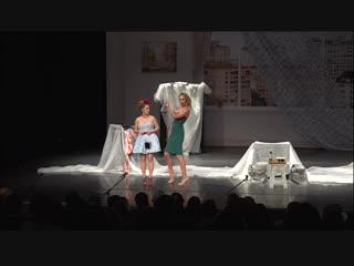 Комедийный спектакль Ангелы на крыше  Катя Варнава, Мария Кравченко, Андрей Носков