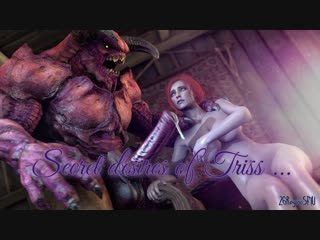 Secret desires of triss (the witcher sex)