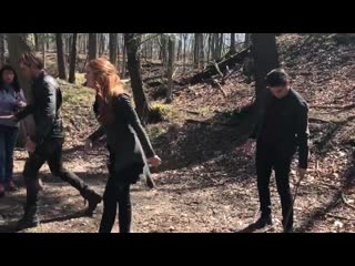 When @domsherwood1 makes sure you land in a mud puddle and @arosende laughs... share the m