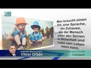 Orbáns Rede- Endzeit für Europa - 16- Juni 2018 - www-kla-tv-12595
