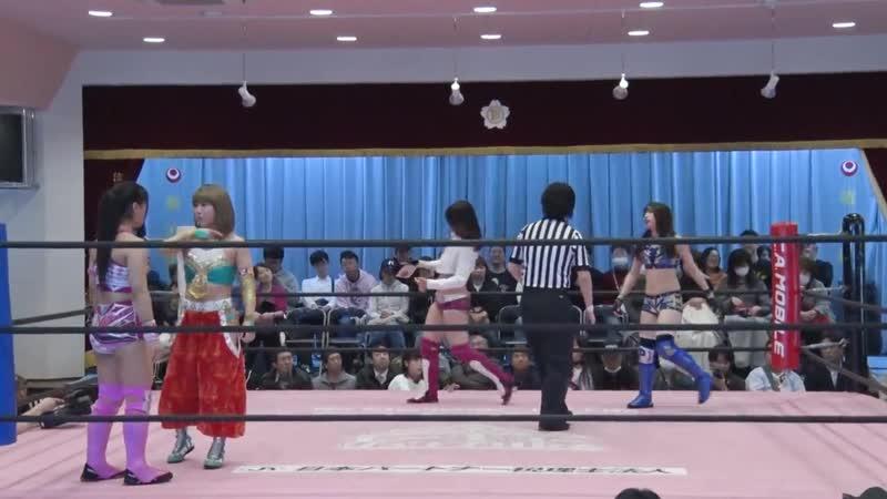 Hikari Noa Miyu Yamashita vs Miu Watanabe Yuka Sakazaki