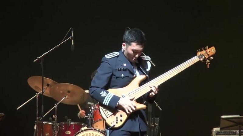Run For Cover Marcus Miller Live Arrangement 서울경찰악대 베이스 김은세 Eunse Kim